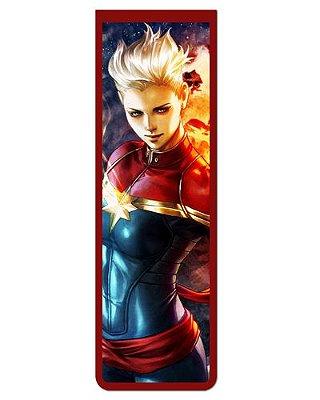 Marcador De Página Magnético Capitã Marvel - MMA76