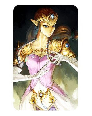 Ímã Decorativo Princesa Zelda - The Legend of Zelda - IZE03