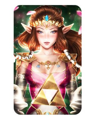 Ímã Decorativo Princesa Zelda - The Legend of Zelda - IZE05
