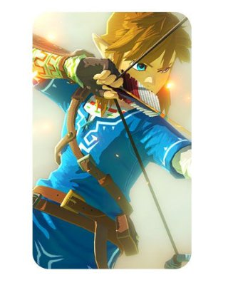 Ímã Decorativo Link - The Legend of Zelda - IZE09