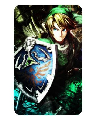Ímã Decorativo Link - The Legend of Zelda - IZE11