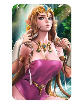 Ímã Decorativo Princesa Zelda - The Legend of Zelda - IZE23