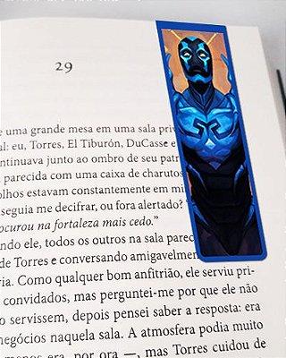Marcador De Página Magnético Besouro Azul - MDC141