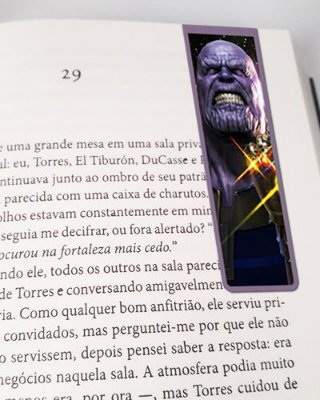 Marcador De Página Magnético Thanos - MMA97