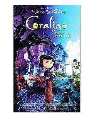 Ímã Decorativo Pôster Coraline - IPF05