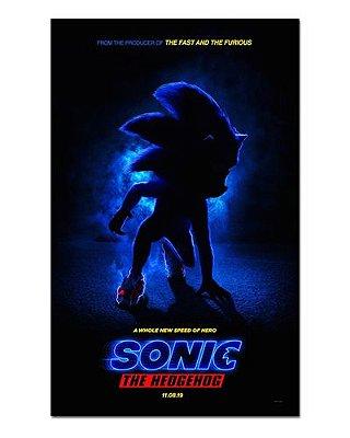 Ímã Decorativo Pôster Sonic The Hedgehog - IPF568