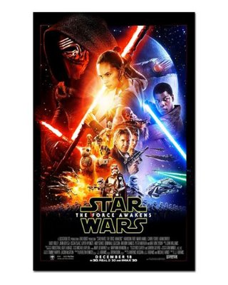 Ímã Decorativo Pôster Star Wars O Despertar da Força - IPF564
