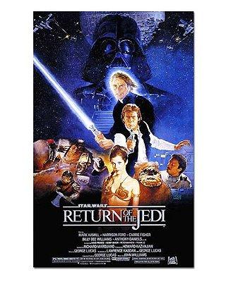 Ímã Decorativo Pôster Star Wars O Retorno de Jedi - IPF563