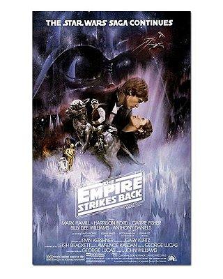 Ímã Decorativo Pôster Star Wars O Império Contra-Ataca - IPF562
