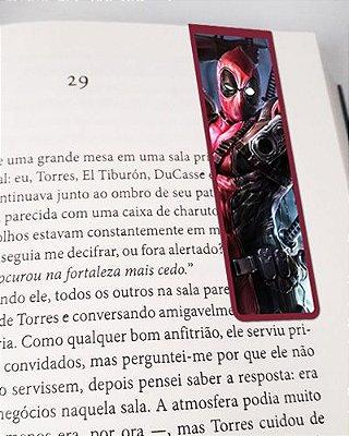 Marcador De Página Magnético Deadpool - MMA102