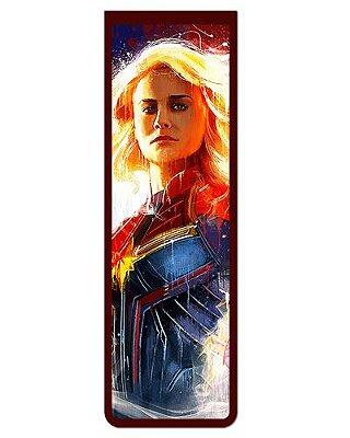 Marcador De Página Magnético Capitã Marvel - Avengers - MMA118