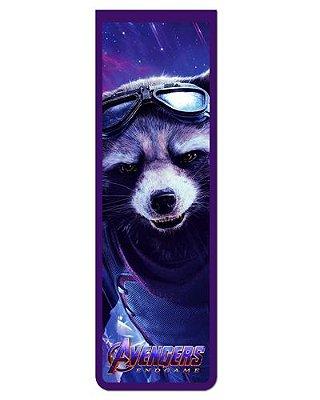 Marcador De Página Magnético Rocket Raccoon - Avengers - MMA114