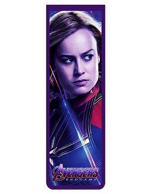 Marcador De Página Magnético Capitã Marvel - Avengers - MMA109
