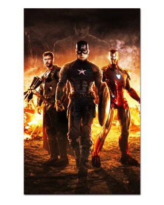 Ímã Decorativo Trinity Avengers Endgame - IQM07