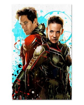 Ímã Decorativo Ant-Man e Vespa - Avengers Endgame - IQM11