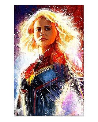 Ímã Decorativo Capitã Marvel - Avengers Endgame - IQM12