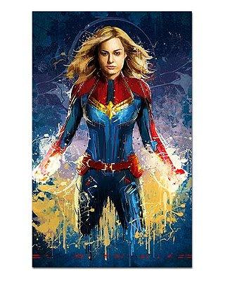 Ímã Decorativo Capitã Marvel - Avengers Endgame - IQM13
