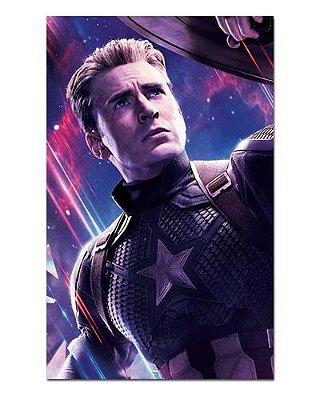 Ímã Decorativo Capitão América - Avengers Endgame - IQM29