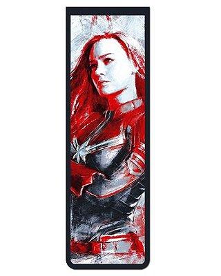 Marcador De Página Magnético Capitã Marvel - Avengers - MMA130