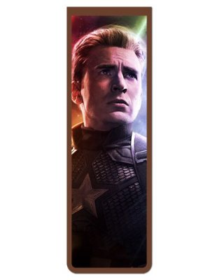 Marcador De Página Magnético Capitão América - Avengers - MMA138