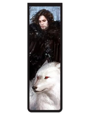 Marcador De Página Magnético Jon Snow - Game of Thrones - GOT83