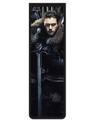 Marcador De Página Magnético Jon Snow - Game of Thrones - GOT84