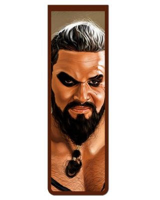 Marcador De Página Magnético Khal Drogo - Game of Thrones - GOT110