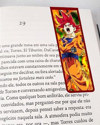Marcador De Página Magnético Goku - Dragon Ball - MAN183