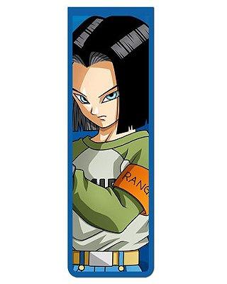 Marcador De Página Magnético Android 17 - Dragon Ball - MAN199
