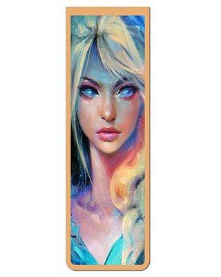 Marcador De Página Magnético Elsa Frozen - Disney - MPD03