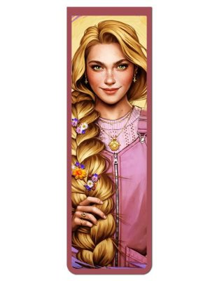 Marcador De Página Magnético Rapunzel - Disney - MPD23