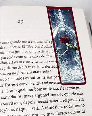 Marcador De Página Magnético Rosa Bela e a Fera - Disney - MPD77