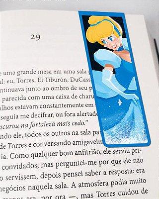 Marcador De Página Magnético Cinderela - Disney - MPD100