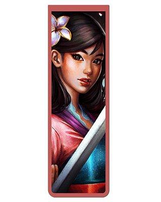 Marcador De Página Magnético Mulan - Disney - MPD114