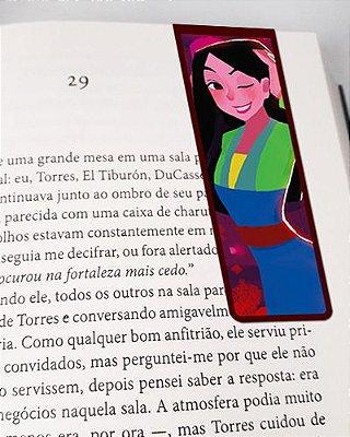 Marcador De Página Magnético Mulan - Disney - MPD116