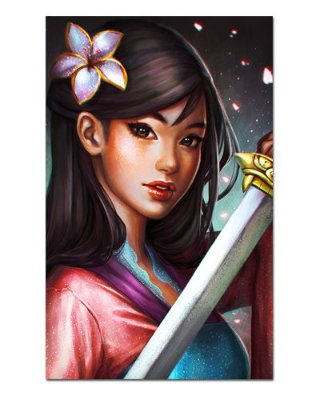 Ímã Decorativo Mulan - Disney - IPD55