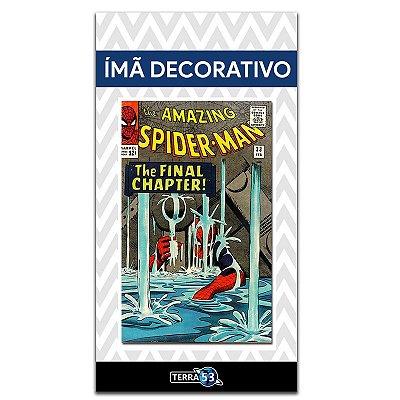 Ímã Decorativo Capa de Quadrinhos - Spider-Man - CQM02