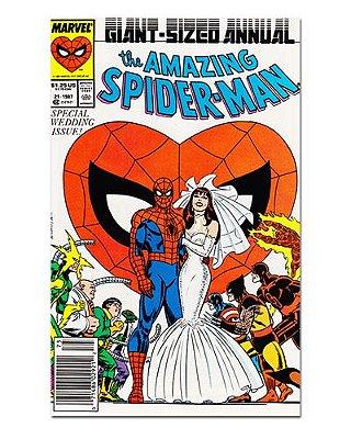 Ímã Decorativo Capa de Quadrinhos - Spider-Man - CQM08