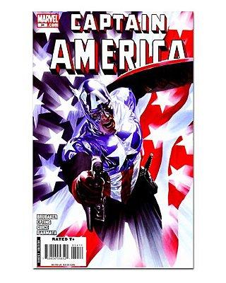 Ímã Decorativo Capa de Quadrinhos - Capitão América - CQM24