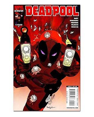 Ímã Decorativo Capa de Quadrinhos Deadpool - CQM34