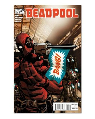 Ímã Decorativo Capa de Quadrinhos Deadpool - CQM39