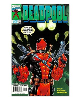 Ímã Decorativo Capa de Quadrinhos Deadpool - CQM40