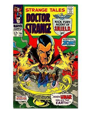 Ímã Decorativo Capa de Quadrinhos - Doutor Estranho - CQM54