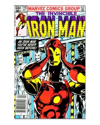 Ímã Decorativo Capa de Quadrinhos - Iron Man - CQM61