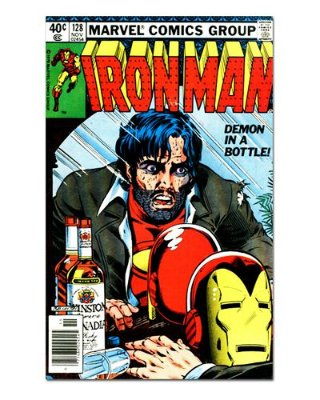 Ímã Decorativo Capa de Quadrinhos - Iron Man - CQM62