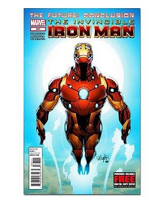 Ímã Decorativo Capa de Quadrinhos - Iron Man - CQM63