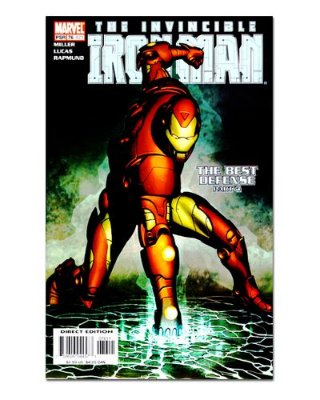 Ímã Decorativo Capa de Quadrinhos - Iron Man - CQM66
