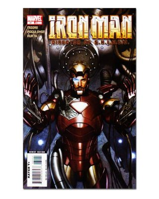 Ímã Decorativo Capa de Quadrinhos - Iron Man - CQM67