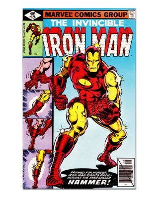 Ímã Decorativo Capa de Quadrinhos - Iron Man - CQM68