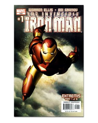 Ímã Decorativo Capa de Quadrinhos - Iron Man - CQM70